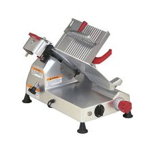 Berkel 825A Gravity Feed Meat Slicer With Knife Guard And Sharpener