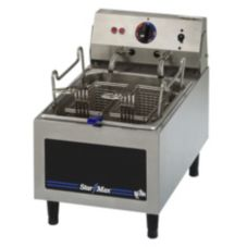 Star® Mfg. Star-Max® 10 lb Elec. Countertop Fryer w/ 2 Baskets