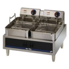 Star® 530TF Star-Max 30 lb. Electric Fryer with Two 15 lb. Baskets