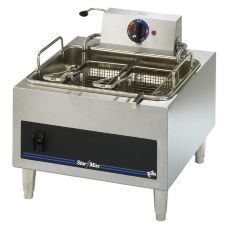 Star® 301HLF Star-Max® 15 lb. Electric Fryer with Two Baskets