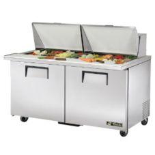 True® TSSU-60-24M-B-ST 15.5 Cu Ft 24-Pan Salad / Sandwich Unit