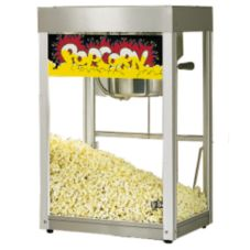Star® Mfg. Jetstar® Popcorn Popper Machine w/ Stainless Finish