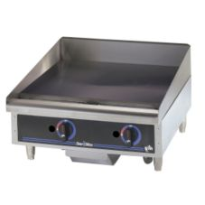 "Star® 624MF Star-Max® 24"" Gas Griddle with Manual Control"