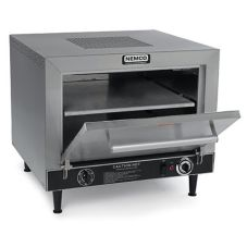 NEMCO 6205 Square Double Deck Countertop Brick Pizza Oven