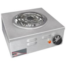 APW Wyott CP-1A Heavy Duty Single Electric 120V Portable Hot Plate