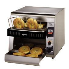 "Star® Mfg. Compact Conveyor Bagel Toaster w/ 1-1/2"" Opening"