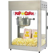 Gold Medal 2551 Titan 6 Oz. Popcorn Machine With E-Z Cleen Kettle