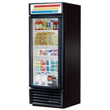 True GDM-26-LD Black Glass Door 26 Cu. Ft. Refrigerator Merchandiser