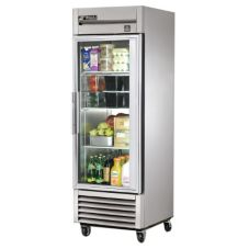 True TS-23G TS-Series 1-Glass Full Door 23 Cu Ft Reach-In Refrigerator