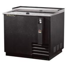 True TD-36-12 Black Bottle Cooler For 14.5 Cases / 12 Oz. Cans