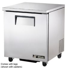 True TUC-27F Solid Door 6.5 Cu Ft Undercounter Freezer With Legs