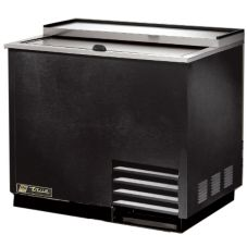 True T-36-GC Black 36 Cu. Ft. Glass And Plate Chiller / Froster