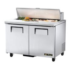True® 2-Door 12-Pan 12 Cu Ft S/S Sandwich & Salad Unit