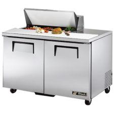 True TSSU-48-8 2-Door 4-Shelf 12 Cu Ft S/S Sandwich & Salad Unit
