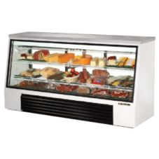 True TSID-96-3 3-Sliding Door 2-Shelf Single-Duty 32 Cu Ft Deli Case