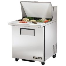 True® TSSU-27-12M-B Left Hinged Door 6.5 Cu Ft Sandwich Prep Table