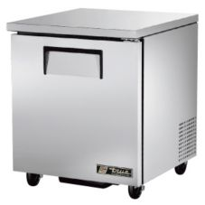 True® TUC-27 S/S 6.5 Cu Ft Undercounter Refrigerator