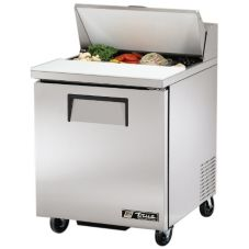 True® 1-Left-Hinged Door 6.5 Cu Ft S/S Sandwich & Salad Unit