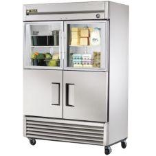 True® T-49-2-G-2 S/S 49 Cu Ft Reach-In Refrigerator