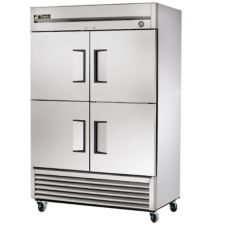 True® T-Series 4-Half Door 6-Shelf Reach-In -10°F Freezer