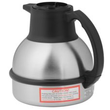 BUNN® S/S Deluxe 64 Oz Thermal Carafe with Black Lid