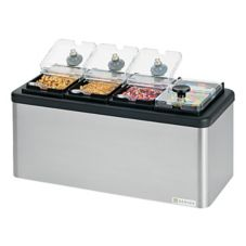 Server 87480 Insulated Bar With Four 1/9-Size Jars