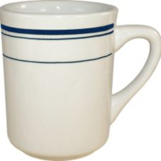 International Tableware Catania™ 8.5 Oz Toledo Mug w/ Blue Band