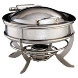 D.W. Haber & Sons 06UHMSS Saturn Hammered S/S Round 2 Gal. Chafer