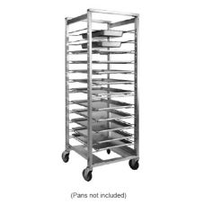 CresCor Adjustable Full Height Mobile Utility Rack