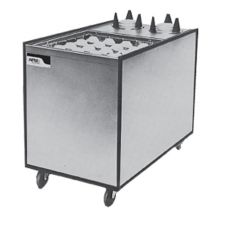 APW Wyott MCTRS-2020-6 Mobile Lowerator® Cup and Saucer Dispenser