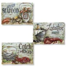 Hoffmaster® 326333 Seafood Multipack® Placemats - 1000 / CS