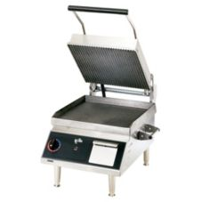 Star® CG14IEGTA-208 Pro-Max Smooth Bottom / Grooved Iron Grill