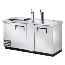 True® S/S Club Top Direct Draw Beer Dispenser f/ 3 Half Barrels
