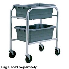 New Age Industrial 6266 Mobile Open-Design 2 Lug Capacity Rack