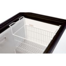 True® 909404 White Novelty Basket For THF Freezer