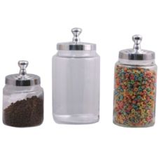 Dover Normandy Hotelware N-920SET French Candy Jar With Lid - 3 / ST