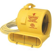 Oreck AM10.D Fast® Yellow 3-Speed Floor Fan / Air Mover
