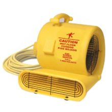 Bissell AM10.D-220 Fast® Yellow 3-Speed 220V Floor Fan / Air Mover