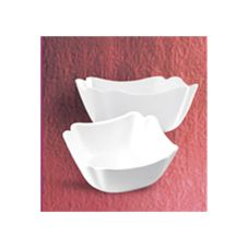 "CAC China SLB-8 7"" Square Salad Bowl - 24 / CS"