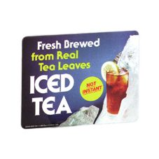 "BUNN® 3043.0002 ""Freshly Brewed"" Iced Tea Decal"