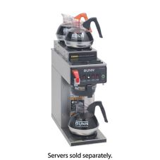 BUNN® CWTF15-3 S/S Automatic Coffee Brewer with 2U/1L Warmers