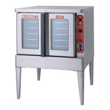 Blodgett DFG-100 XCEL ROLL-IN SINGLE Gas Convection Oven w/ CTRG Cart