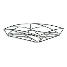 "Delfin BK-12EM 12"" x 12"" x 2"" Solid Steel Element Basket - 4 / CS"
