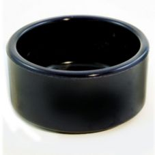Gessner™ 0372 Black Melamine 2 Oz Smooth-Sided Ramekin - 72 / CS