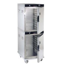 CresCor H-339-214C 16 Pan Heated Insulated Stacked Mobile Cabinet