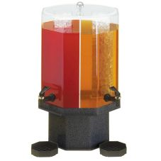 Cal-Mil® Charcoal Base 5 Gallon Beverage Dispenser