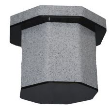 Cal-Mil® C972-2B-16 Granite Grey Base for 2 Gallon Tea Dispenser