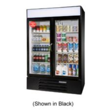 Beverage-Air LV49-1-W LumaVue White Reach-In Refrigerated Merchandiser