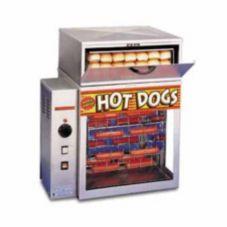 APW Wyott DR-2A Mr. Frank Hot Dog Display Broiler and Bun Warmer
