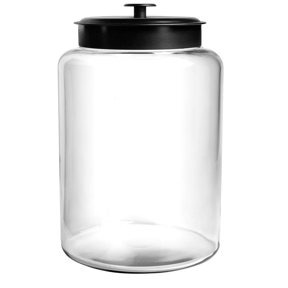 2.5 Gal Montana Jar with Black Lid